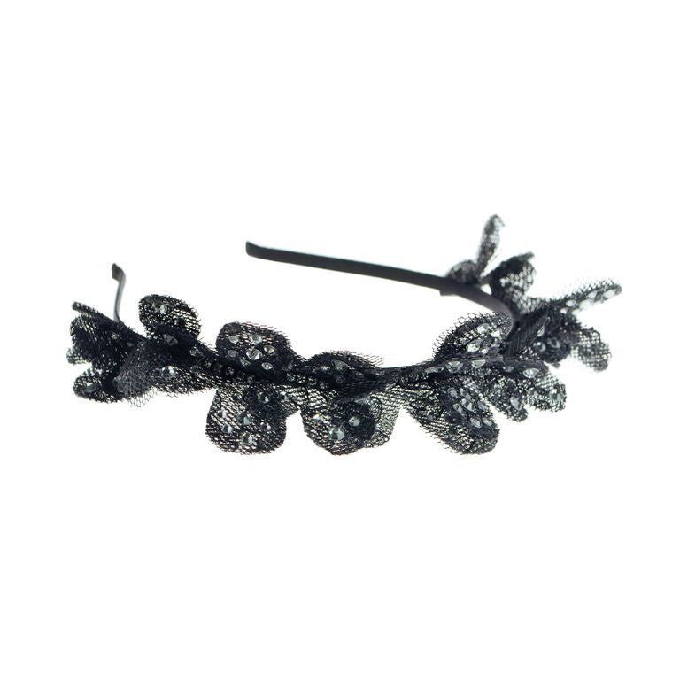 Lace Butterfly Headband