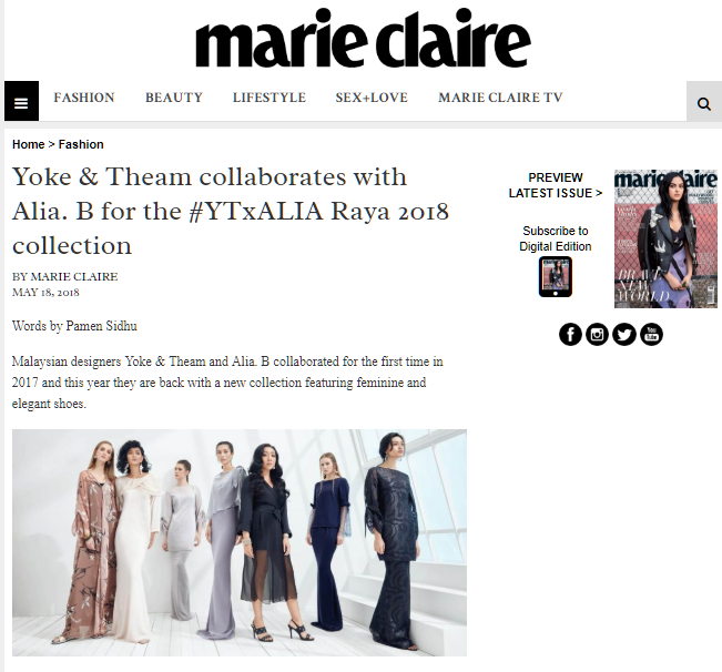 Marie Claire May 2018 | Press