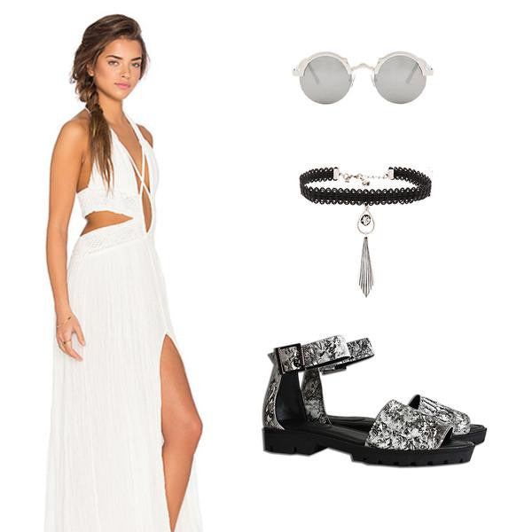 Style Inspiration: Coachella-Inspired Outfit Ideas ft. Zinnia Sandal