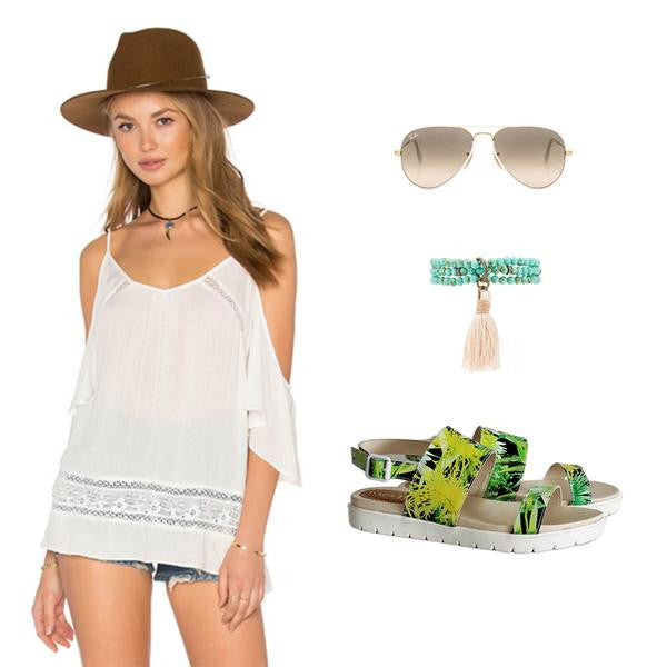 Style Inspiration: Coachella-Inspired Outfit Ideas ft. Mae Sandal