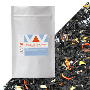 Tea Revv NO 18 Rhubarb & Custard Loose Leaf Black Tea Blend Pouch