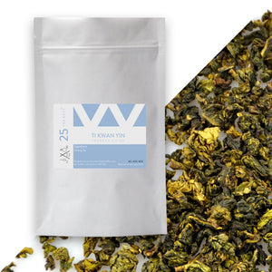 Tea Revv #25 Ti Kwan Yin Iron Goddess Loose Leaf Oolong Tea Pouch