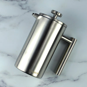 Solo French Press | Silver