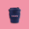 Yawn Coffee Eco Bamboo Fiber Reusable Cup