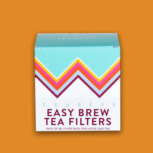 Tea Revv Teaware Large Tea Revv Brewing Filter Tea Bags 50 Pack