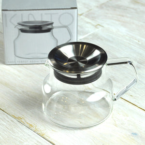Kinto CAST Glass & Stainless Steel Teapot