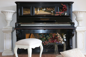 Piano, Floral Art, Orchid Roots, Orchids, Home Decor, Floral Collection