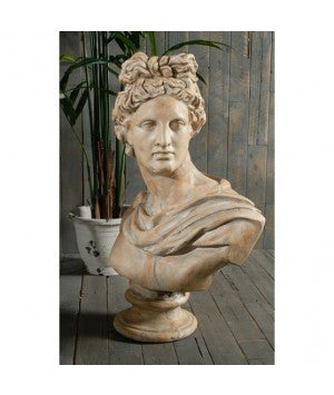 Large Antony bust - adorned-interiors