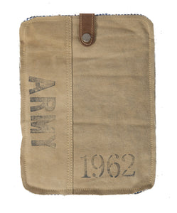 Cotton canvas Ipad cover - adorned-interiors