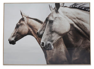 Wild Horses wall art - adorned-interiors