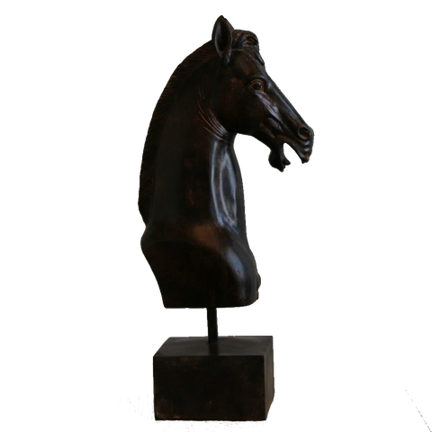 Horse on stand - adorned-interiors