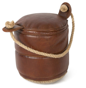 Leather door stop - adorned-interiors