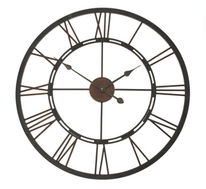 Iron clock - adorned-interiors