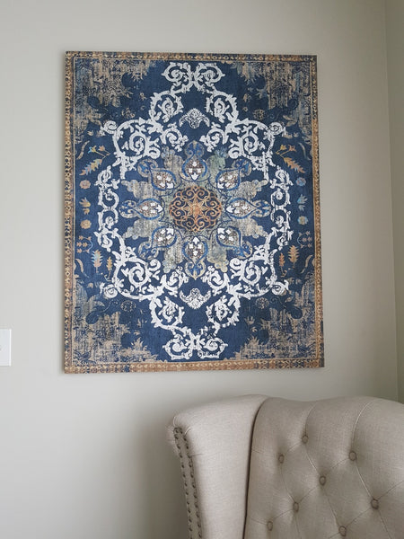 Moroccan canvas print - adorned-interiors