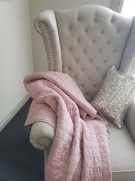 Stonewashed Cotton Throw