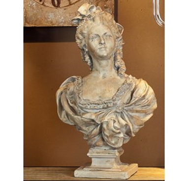 Victorian era lady bust - adorned-interiors