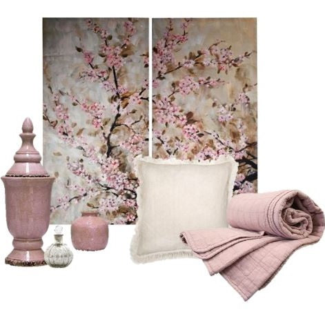 Cherry Blossom decor set - adorned-interiors