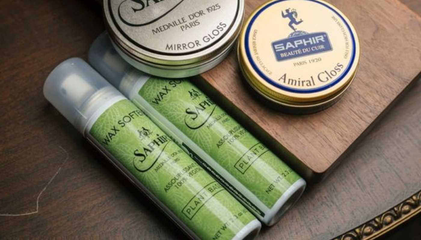 The new Saphir Médaille D'Or Plant Based Wax Softener