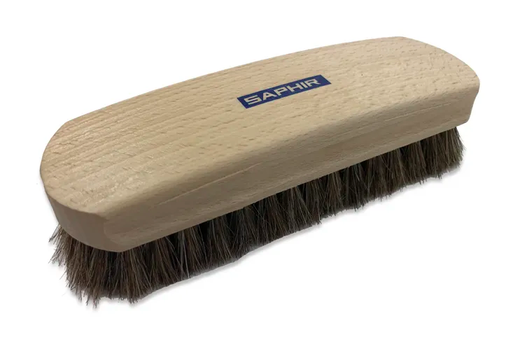 Natural Horsehair Brush - Large