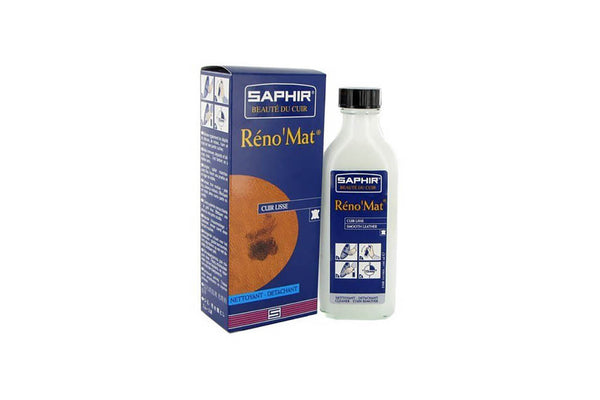 Reno'Mat Leather Cleaner 100ml - Saphir Beauté Du Cuir - Bootblack