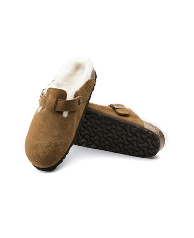 Birkenstock - Boston Suede Mink