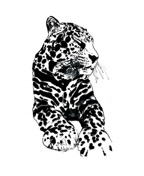 Hotel Magique - Leopard Greeting Card | Thisisnotashop.nl