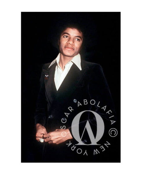 Oscar Abolafia - Michael Jackson at Studio 54, New York City 1978