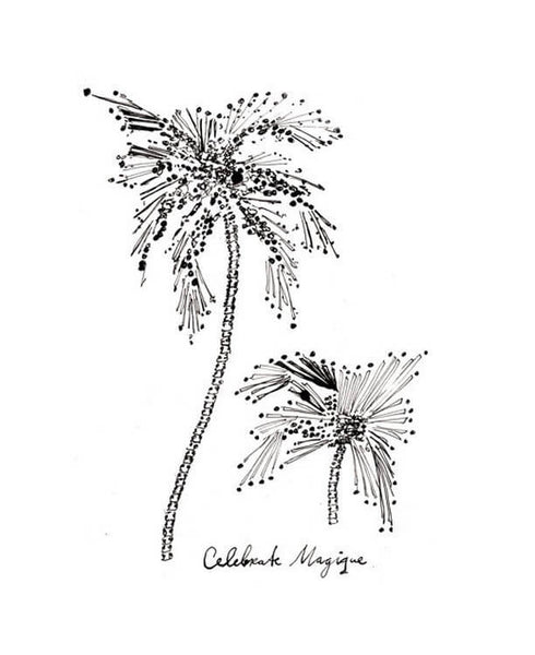 Hotel Magique - Palmtrees Greeting Card | Thisisnotashop.nl
