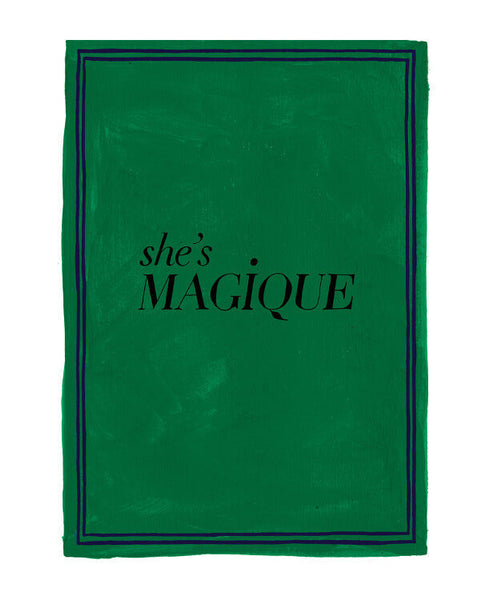 Hotel Magique - She's Magique Greeting Card | Thisisnotashop.nl