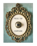 Things for Drinks - Press for Champagne Bell