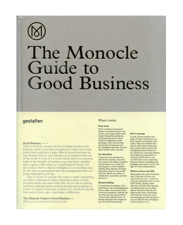The Monocle Guide to Good Business - by Andrew Tuck