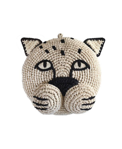 Sproet & Sprout - Hand Crochet Panther Head