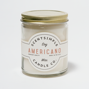 Americano Scented Soy Wax Candle