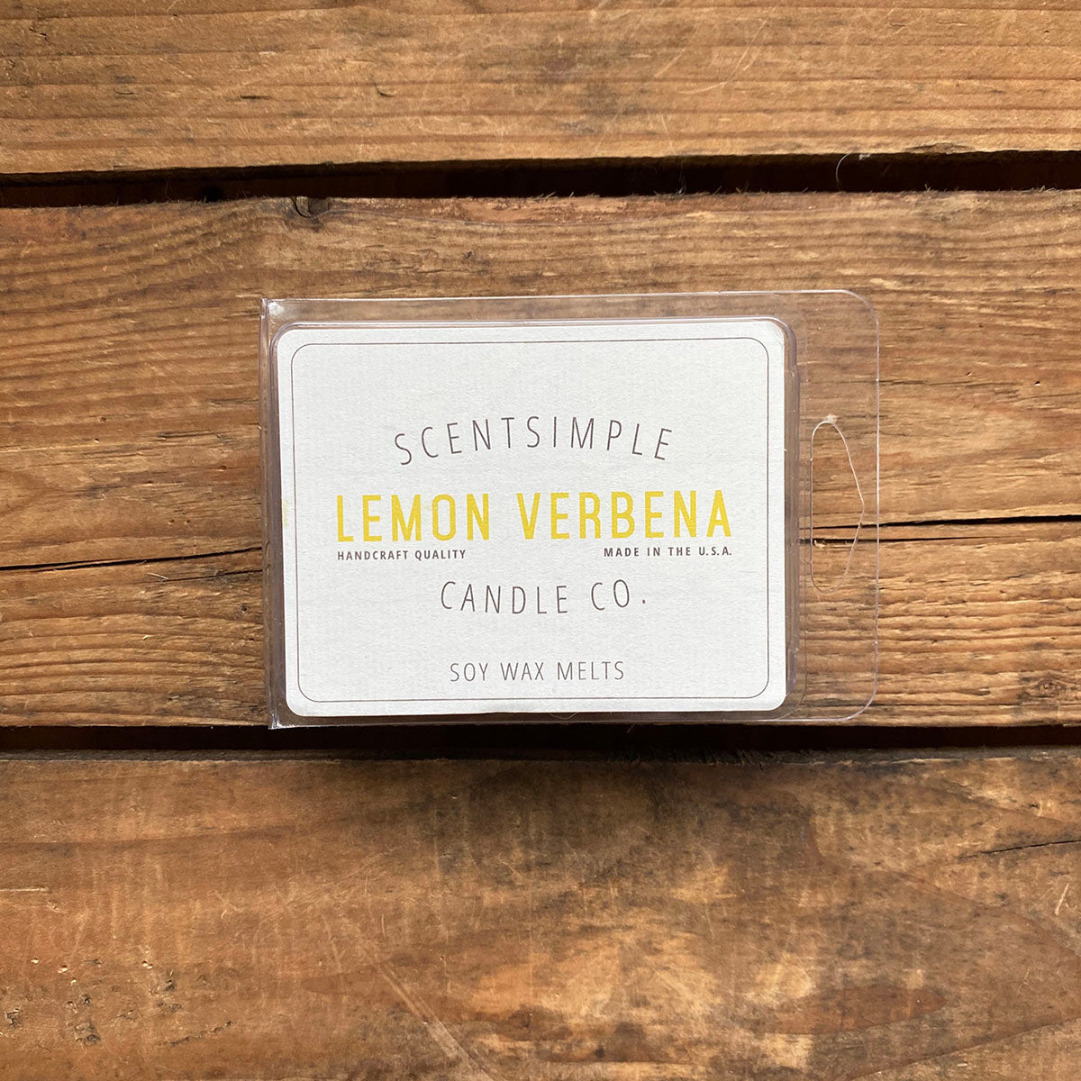 Lemon Verbena Scented Soy Wax Melts