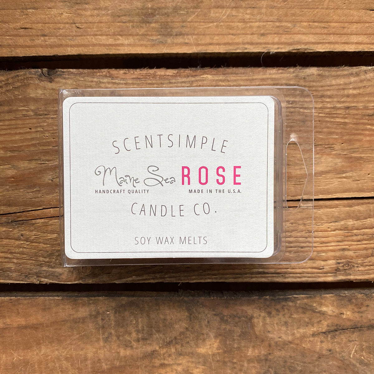 Maine Sea Rose Scented Soy Wax Melts