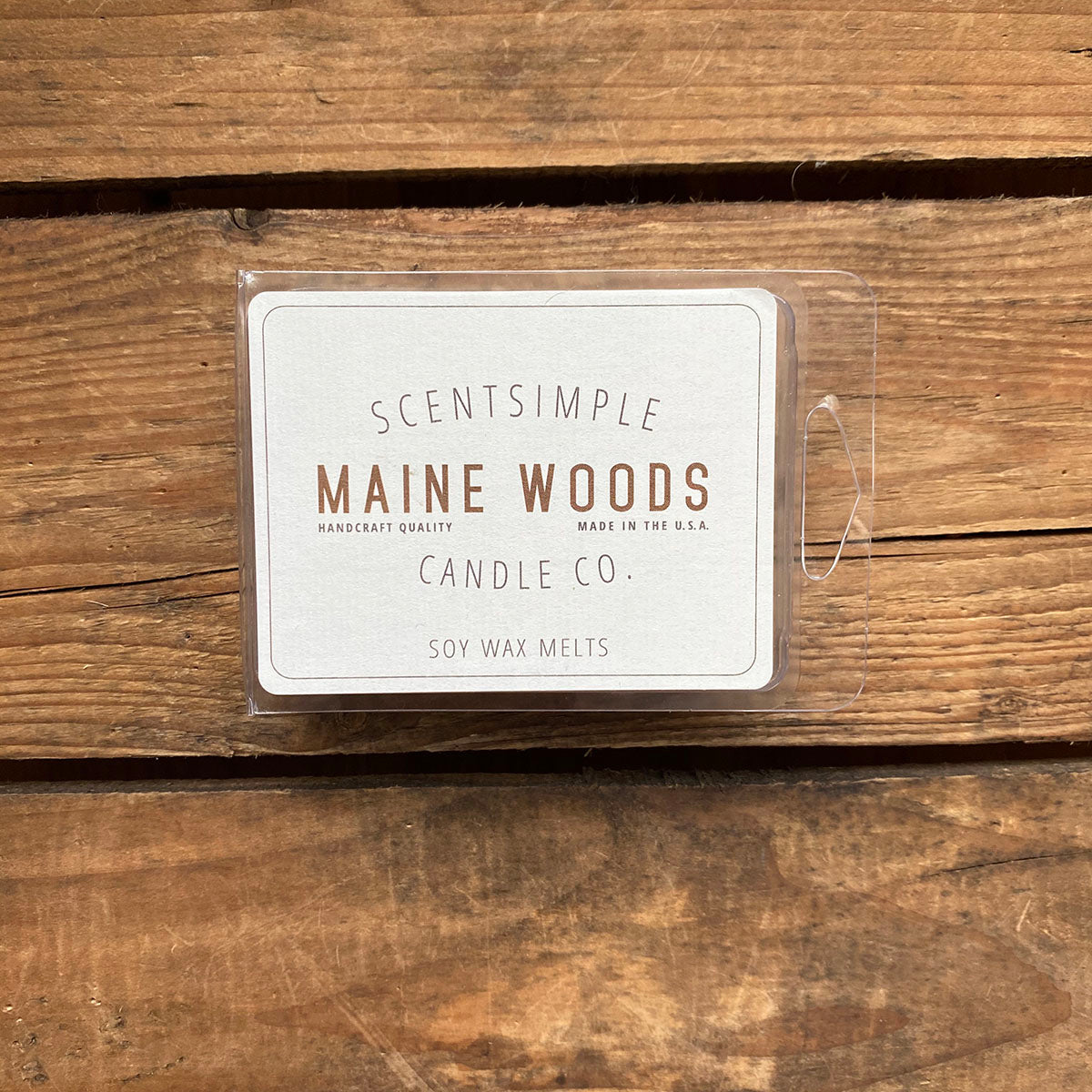 Maine Woods Scented Soy Wax Melts