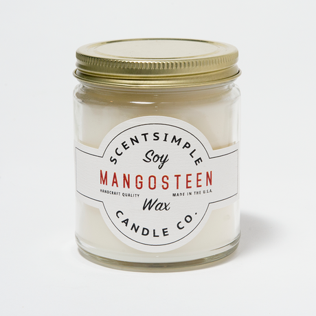 Mangosteen Scented Soy Wax Candle