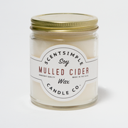 Mulled Cider Scented Soy Wax Candle