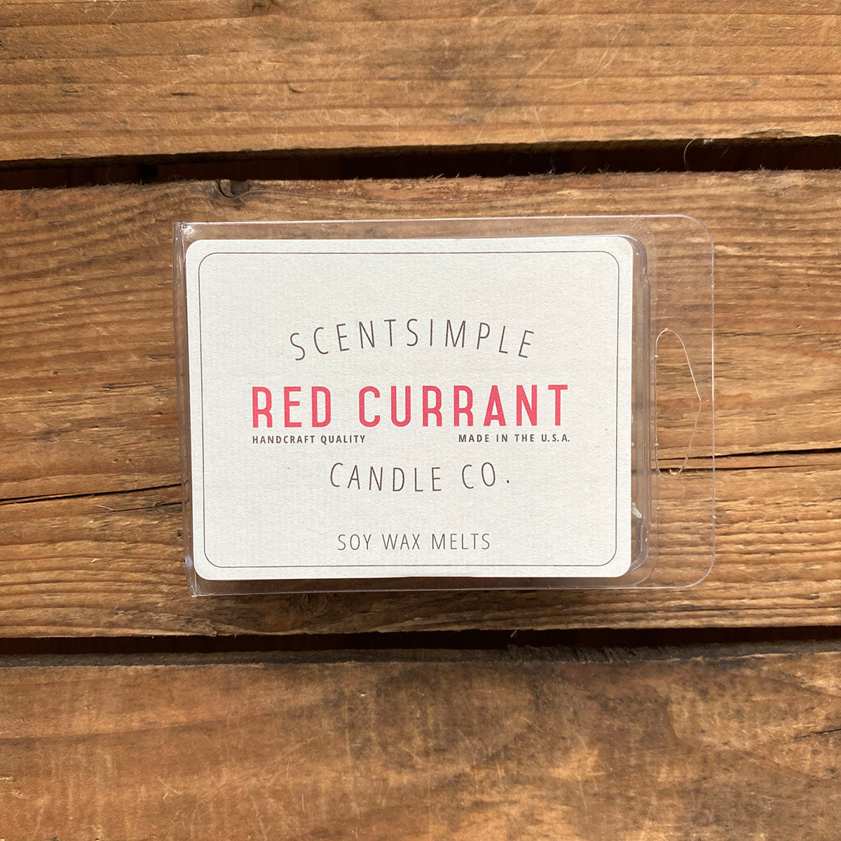Red Currant Scented Soy Wax Melts