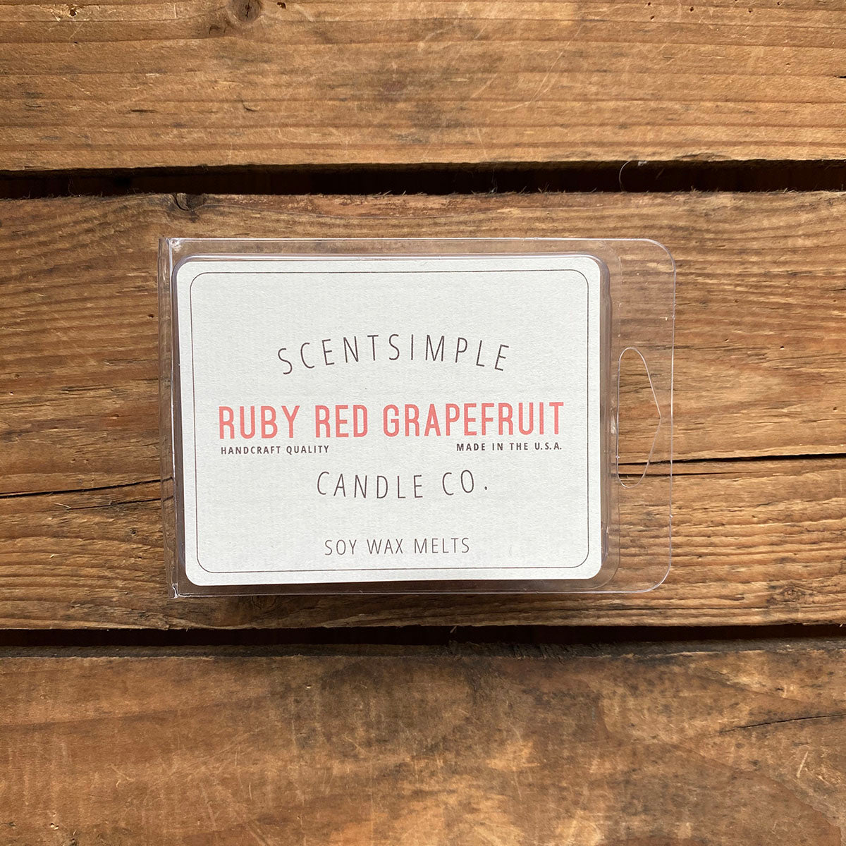 Ruby Red Grapefruit Scented Soy Wax Melts