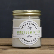 Honeydew Melon Soy Wax Candle