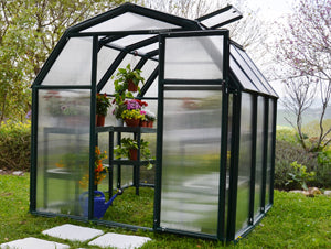 Rion Ecogrow 174 6x8 Greenhouse Mounting Base Amp Accessories