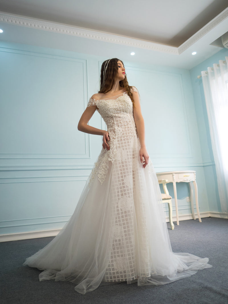 Glorianna Pearl Rose Wedding dress