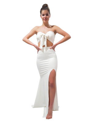 Ellie White two piece mermaid dress