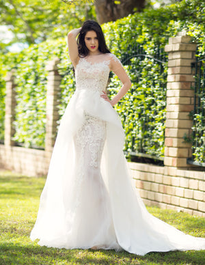 Royal mermaid wedding dress