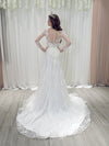 Annabelle a-line lace wedding dress