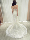 Abella lace mermaid wedding dress