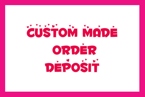 Custom-made order desposit for formal dress