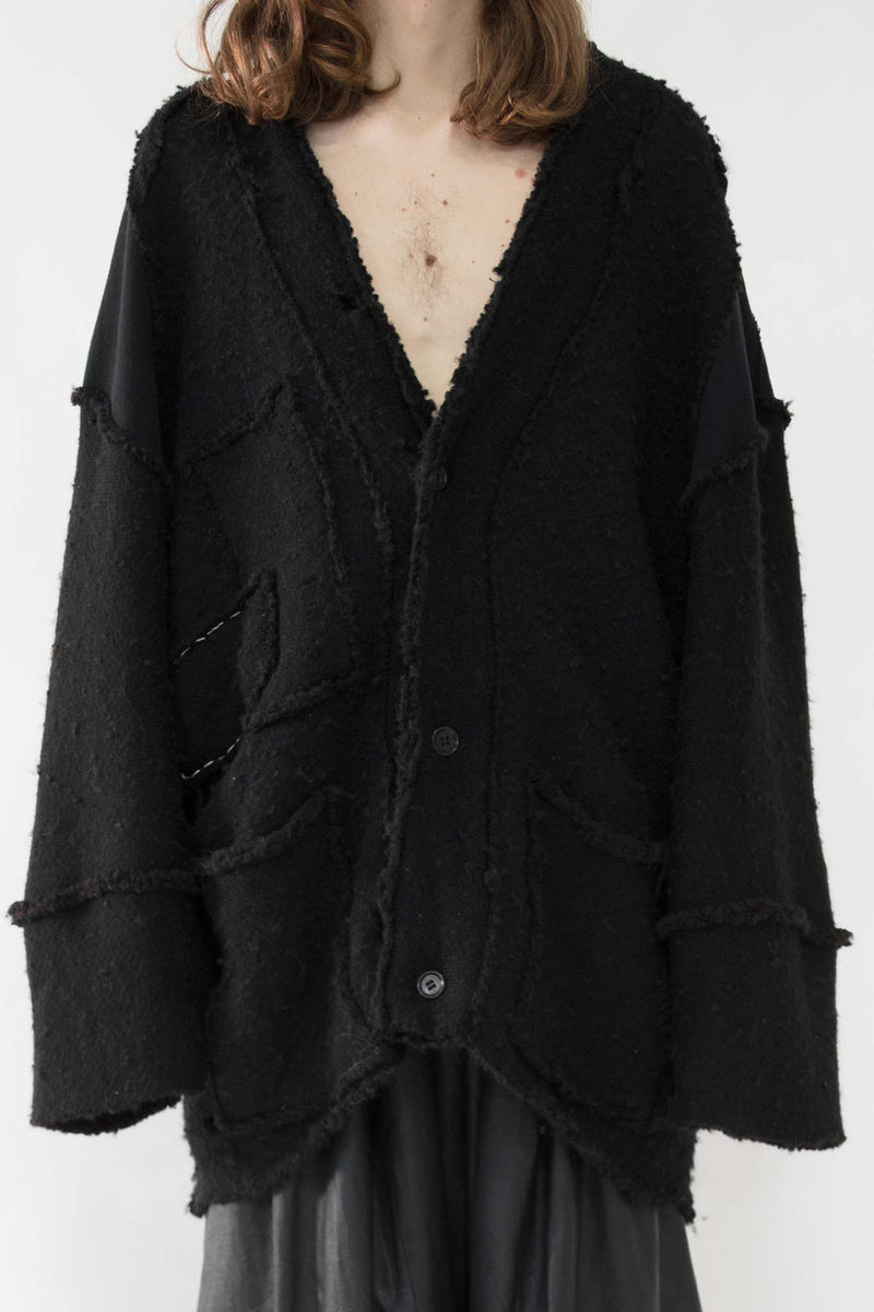 Heavy Knit Alpacka Wool Cardigan - CARL IVAR