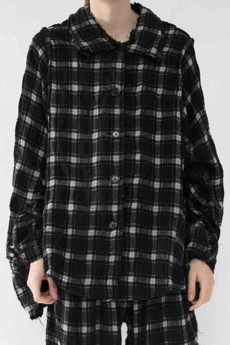 Checkered Shirt - NELLY JOHANSSON